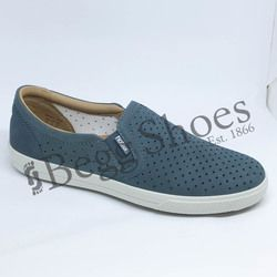 Hotter Comfort Shoes - Blue nubuck - 8103/72 DAISY E FIT