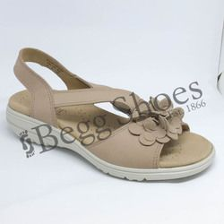 Hotter Sandals - Light taupe - 8108/50 HANNAH E FIT
