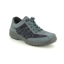Hotter Walking Shoes - Navy Nubuck - 0113/70 MIST GTX 95 E