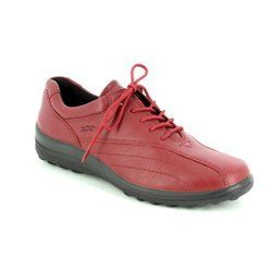 Hotter Comfort Lacing Shoes - Ruby - 7208/80 TONE