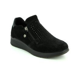 IMAC Comfort Shoes - Black suede - 82660/7150011 ALFA