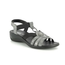IMAC Comfortable Sandals - Pewter - 108622/744411 CATHRYN