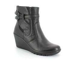 IMAC Wedge Boots - Black - 42790/2820011 CHANTAL
