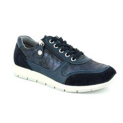 IMAC Everyday Shoes - Navy patent-suede - 72261/1408000 EDITH  71