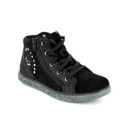IMAC Girls Boots - Black suede - 63660/7000011 HOLLY G