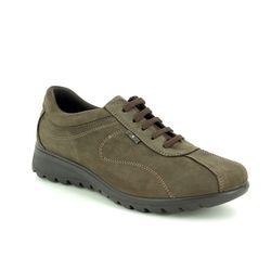 IMAC Comfort Lacing Shoes - Brown nubuck - 7870/30053017 KARENAL
