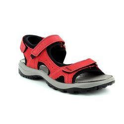 IMAC Walking Sandals - Red nubuck - 109541/420011 LAKE