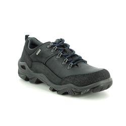 IMAC Casual Shoes - Black leather - 4508/3550011 PATH LO TEX