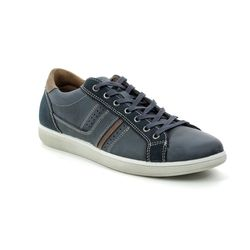 IMAC Casual Shoes - Navy Leather - 2680/2409005 SEALIFE