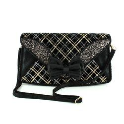 Irregular Choice Occasion Handbags - Black multi - BANJ-01P BAN JOE BAG
