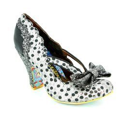 Irregular Choice Heeled Shoes - Silver - 4135-20A CURTAIN CALL
