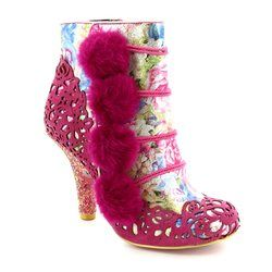 Irregular Choice Boots - Ankle - Pink multi - 3081-51B SLUMBER PARTY