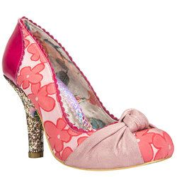 Irregular Choice Heeled Shoes - Pink - 8124-60A SMARTIE PANTS