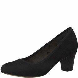 Jana Court Shoes - Black - 22473/25001 ABUPLAIN