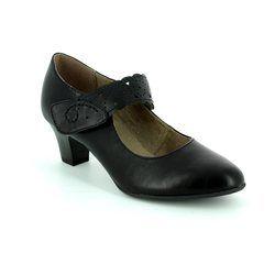 Jana Court Shoes - Black - 24462/001 MESSI