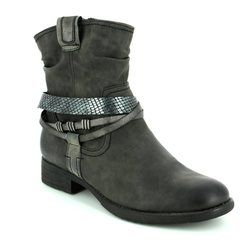 Jana Boots - Short - Dark Grey - 25461207 SUSINA