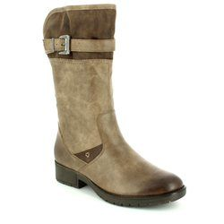 Jana Knee High Boots - Taupe multi - 25463341 VIEW