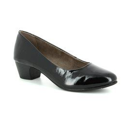 Jana Court Shoes - Black patent - 2236020018 ZATORA