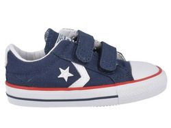 Converse Boys Trainers - Navy - 715467/412 Star Player 3V OX