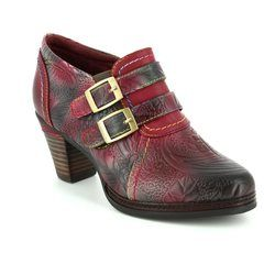 Laura Vita Heeled Shoes - Wine - 3008/80 AGATHE 100