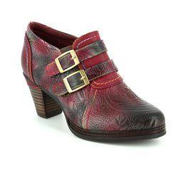 Laura Vita Shoe Boots - Wine - 3008/80 AGATHE 100