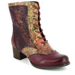 Laura Vita Knee High Boots - Wine multi - 3004/80 ALEXIA 15