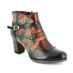 Laura Vita Boots - Ankle - Black multi - 2001/30 ANGELA 02 NOIR