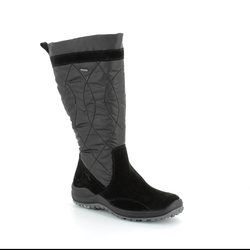 Legero Boots - Knee High - Black suede - 00983/00 ANCONSHEEP GORE-TEX