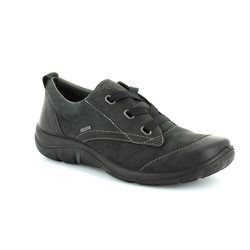 Legero Comfort Lacing Shoes - Black - 00580/00 MILANO GORE-TEX