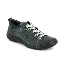 Legero Comfort Lacing Shoes - Navy - 00587/83 MILANO GORE-TEX
