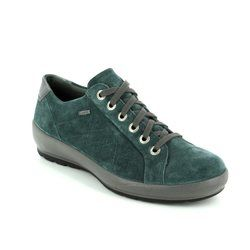 Legero Comfort Lacing Shoes - Petrol blue - 00550/76 OLBIA GORE