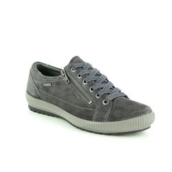 Legero Comfort Lacing Shoes - Grey-suede - 00616/21 TANARO 4.0 GORE-TEX