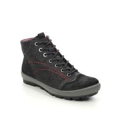 Legero Walking Boots - Black suede - 2000123/0000 TANARO GTX TREK