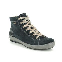 Legero Fashion Ankle Boots - Navy Suede - 00619/80 TANARO HI GORE-TEX