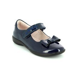 Lelli Kelly Girls Shoes - Navy patent - LK8206/CB01F PERRIE