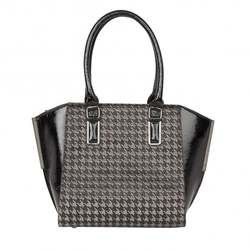 Lotus Occasion Handbags - Black multi patent - 01727/30 AMITIS SONI