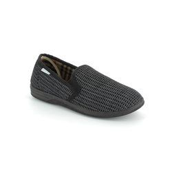 Lotus Slippers & Mules - Black - 7114/30 BEVIS