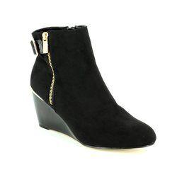 Lotus Fashion Ankle Boots - Black - 40379/30 CASSIA