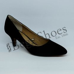 Lotus Court Shoes - Black - 50594/30 CLIO