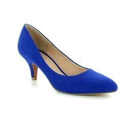 Lotus Court Shoes - Blue - 50594/72 CLIO