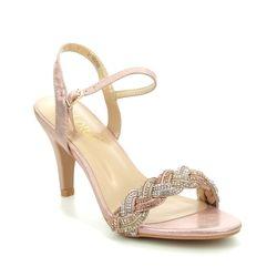 Lotus Heeled Sandals - Pink - ULS172/60 JASMINE