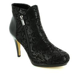 Lotus Boots - Ankle - Black - 40385/30 KOSMO