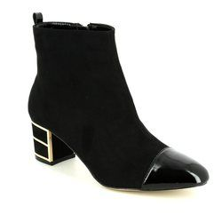 Lotus Boots - Ankle - Black - 40377/30 MICA