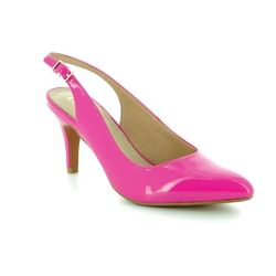 Lotus Heeled Shoes - Fuchsia - 50592/62 NADIA