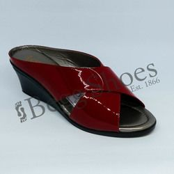 Lotus Wedge Sandals - Red patent - 20059/80 TRINO