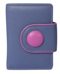 Mala Leathers Purses & Wallets                        - Purple multi - 0621/28 621 2  BUTTON