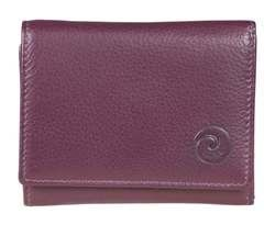 Mala Leathers Purses & Wallets                        - Purple - 3273/59 3273 5 Origin Small Purse with RFID