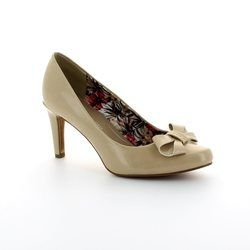 Marco Tozzi Heeled Shoes - Nude Patent - 22404/003 AGABO