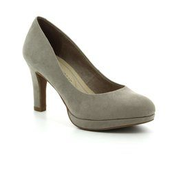 Marco Tozzi Heeled Shoes - Taupe - 22417/20341 BADAMI