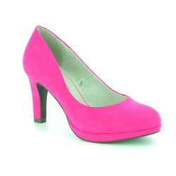 Marco Tozzi Heeled Shoes - Fuchsia - 22417/20510 BADAMI